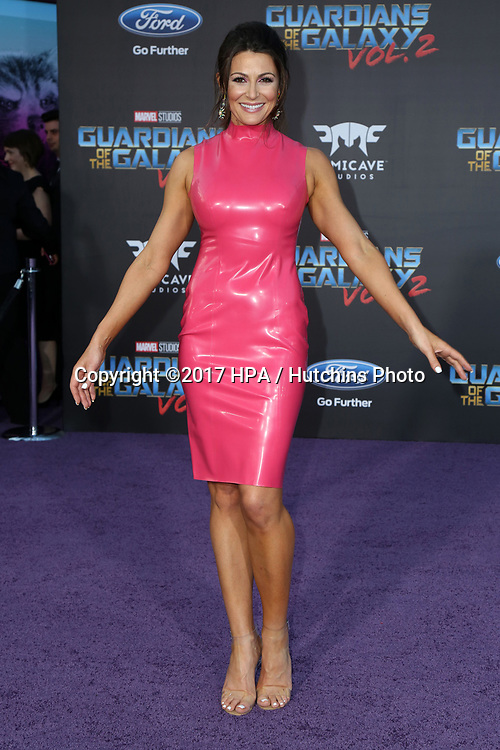 "LOS ANGELES - APR 19:  Cerina Vincent at the ""Guardians of the Galaxy Vol. 2"" Los Angeles Premiere at the Dolby Theater on April 19, 2017 in Los Angeles, CA"