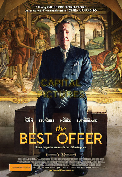 AUSTRALIAN POSTER ART<br /> in The Best Offer (2013)<br /> (La Migliore Offerta)<br /> *Filmstill - Editorial Use Only*<br /> CAP/FB<br /> Image supplied by Capital Pictures