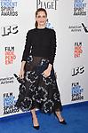 SANTA MONICA, CA - FEBRUARY 25: Actress Amanda Peet attends the 2017 Film Independent Spirit Awards at the Santa Monica Pier on February 25, 2017 in Santa Monica, California.