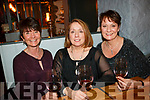 Celebrating ladies christmas at The Lime Tree, Kenmare on Saturday 6th. <br /> L-R: Jill Moffat, Anne-Marie Cleary and Sue O'Neill.