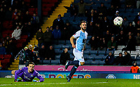 Blackburn Rovers' Adam Armstrong scores his side's first goal  <br /> <br /> Photographer Alex Dodd/CameraSport<br /> <br /> Emirates FA Cup Third Round Replay - Blackburn Rovers v Newcastle United - Tuesday 15th January 2019 - Ewood Park - Blackburn<br />  <br /> World Copyright © 2019 CameraSport. All rights reserved. 43 Linden Ave. Countesthorpe. Leicester. England. LE8 5PG - Tel: +44 (0) 116 277 4147 - admin@camerasport.com - www.camerasport.com