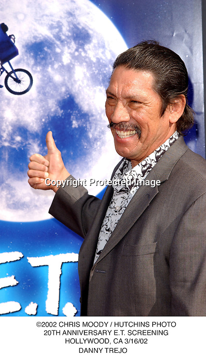 ©2002 KATHY HUTCHINS / HUTCHINS PHOTO.20TH ANNIVERSARY E.T. SCREENING.HOLLYWOOD, CA 3/16/02.DANNY TREJO