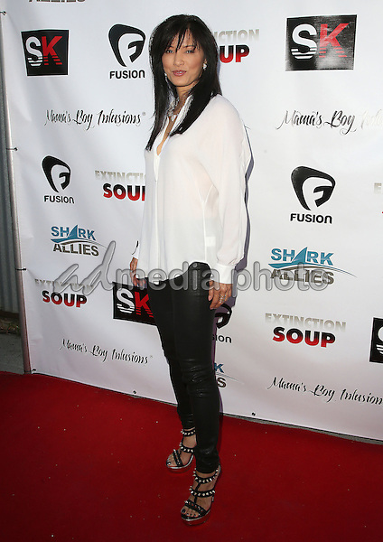 "05 June 2015 - Los Angeles, California - Kelly Hu. ""Extinction Soup"" Shark Conservation Documentary World Premiere held at Brakeman Brewery. Photo Credit: F. Sadou/AdMedia"