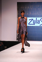 Zula Studios by Zula Khramov Model, Kiki Barth, at Miami Beach International Fashion Week, Miami Beach Convention Center, Miami Beach, FL - 2011