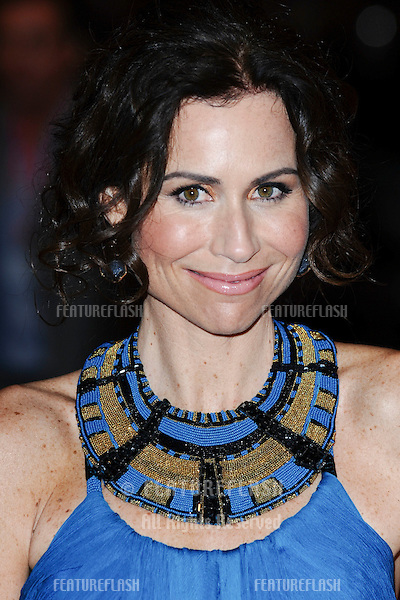 Minnie Driver arrives for the 'Conviction' premiere as part of the 2010 London Film Festival, at the Vue cinema, Leicester Square, London.  16/10/2010 Picture by: Steve Vas / Featureflash