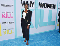 """BEVERLY HILLS, CA - AUGUST 07: Kirby Howell-Baptiste attends the LA Premiere of CBS All Access' """"Why Women Kill"""" at Wallis Annenberg Center for the Performing Arts on August 07, 2019 in Beverly Hills, California.<br /> CAP/ROT<br /> ©ROT/Capital Pictures"""