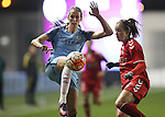 Jill Scott of Manchester City Women during the Women's Champions League last 16 tie, first leg between Manchester City Women and Brondby IF at the Academy Stadium. <br /> <br /> Photo credit should read: Lynne Cameron/Sportimage
