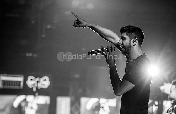 LAS VEGAS, NV - May 13, 2016: ***HOUSE COVERAGE*** Joseph Anthony Somers-Morales AKA SoMO performs at Brooklyn Bowl Las vegas at The Linq  in Las vegas, NV on May 13, 2016. Credit: GDP Photos/ MediaPunch