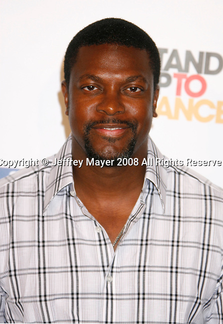 HOLLYWOOD, CA. - September 05: Actor Chris Tucker arrives at Stand Up For Cancer at The Kodak Theatre on September 5, 2008 in Hollywood, California.