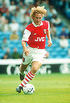 Ray Parlour of Arsenal - Premier League - Manchester City v Arsenal  - Maine Road Stadium - Manchester - England - 10th September 1995 - Picture Sportimage