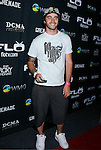 BMX Rider Adam Jones arrives at Flo Live Mobile TV Presents X-Games After Party presented by  Flo Live Mobile TV at The Roxy on August 1, 2008 in West Hollywood, California.