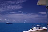 Intercoastal Waterway, Key West,  Florida, USA, Skyline, Intracoastal Waterway, connects, navigable rivers, shipping, traffic, travel, inland ports