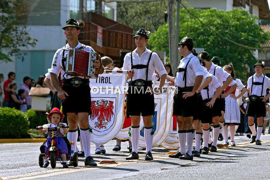 Festa tipica austriaca Tirolefest. Treze Tilias. Santa Catarina. 2014. Foto de Andre Arcenio.