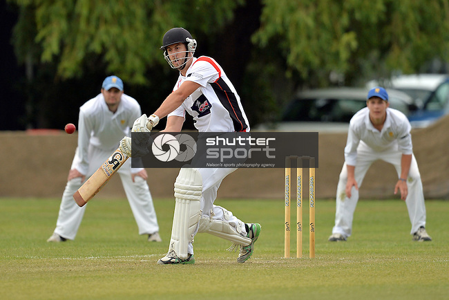 NELSON, NEW ZEALAND - December 19: Car Company Two Day Cricket Final between Stoke -Nayland and ACOB at Marsden Rec on December 19, 2015 in Nelson, New Zealand. (Photos by Barry Whitnall/Shuttersport Limited)