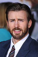 "HOLLYWOOD, LOS ANGELES, CA, USA - MARCH 13: Chris Evans at the World Premiere Of Marvel's ""Captain America: The Winter Soldier"" held at the El Capitan Theatre on March 13, 2014 in Hollywood, Los Angeles, California, United States. (Photo by Xavier Collin/Celebrity Monitor)"
