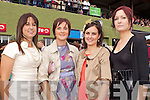 Lisa O'Sullivan, Niamh Moore, Aileen O'Carroll and Shauna Madden pictured at Killarney Races Ladies day on Thursday.
