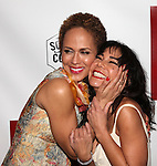 Nicole Ari Parker and Daphne Rubin-Vega.attending the Broadway Opening Night After Party for 'A Streetcar Named Desire' on 4/22/2012 at the Copacabana in New York City.