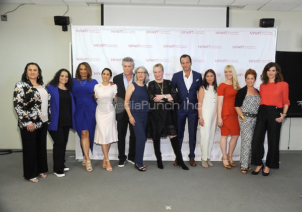 NEW YORK, NY - JUNE 13:  Lela Loren, MAura Tierney, Ray Liotta, Will Arnett and 2016 Designing Women Honorees attend the New York Women in Film and Television Designing Women Awards on June 13, 2016 at CUNY Graduate Center in New York City. .Phto Credit: John Palmer/ Media Punch