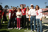 18 November 2006: Trent Edwards during Stanford's 30-7 loss to Oregon State at Stanford Stadium in Stanford, CA.