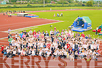 SPORTS DAY: Enjoying their annual sports day at An Riocht Athletics Grounds, Castleisland, on Thursday last were the pupils of Caherleheen National School, Tralee, together with their teachers and parents.   Copyright Kerry's Eye 2008