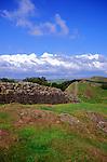 Hadrian's Wall, Walltown Crag, Northumberland, England