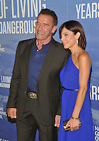 New York, NY- September 20: Arnold Schwarzenegger, Bethenny Frankel attends National Geographic's 'Years Of Living Dangerously' new season world premiere at the American Museum of Natural History on September 21, 2016 in New York City.@John Palmer / Media Punch