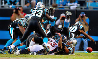 The Carolina Panthers vs. the Denver Broncos at Bank of America Stadium in Charlotte, North Carolina.Photos by: Patrick Schneider Photo.com
