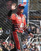 HOMESTEAD, FL - NOVEMBER 19: Dale Earnhardt Jr. waves to the Crowd during the Monster Energy NASCAR Cup Series Championship Ford EcoBoost 400 at Homestead-Miami Speedway on November 19, 2017 in Homestead, Florida. Credit: mpi04/MediaPunch /NortePhoto.com