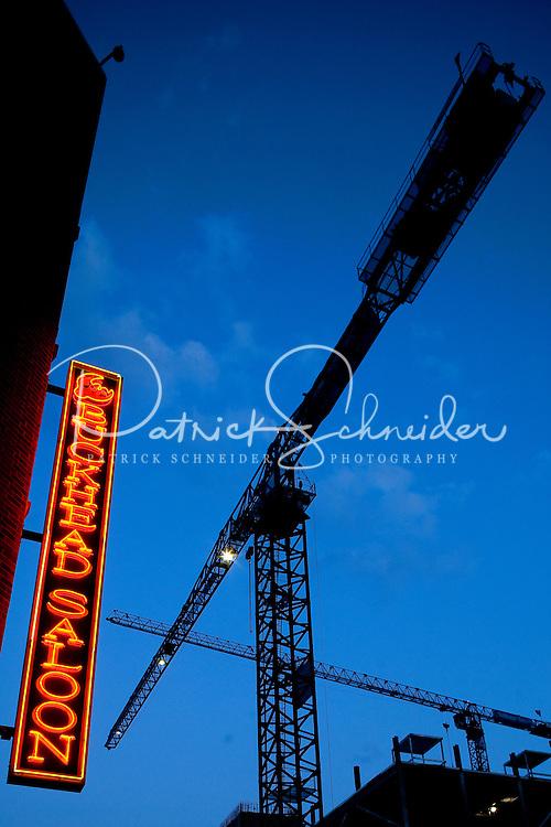 The Buckhead Saloon in Charlotte, NC.