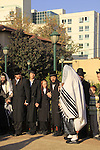 Israel, Bnei Brak,  Blessing of the Sun, Birkat Hachama prayer at the Premishlan congregation