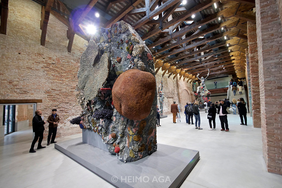 Punta della Dogana.<br /> Damien Hirst: Treasures from the Wreck of the Unbelievable
