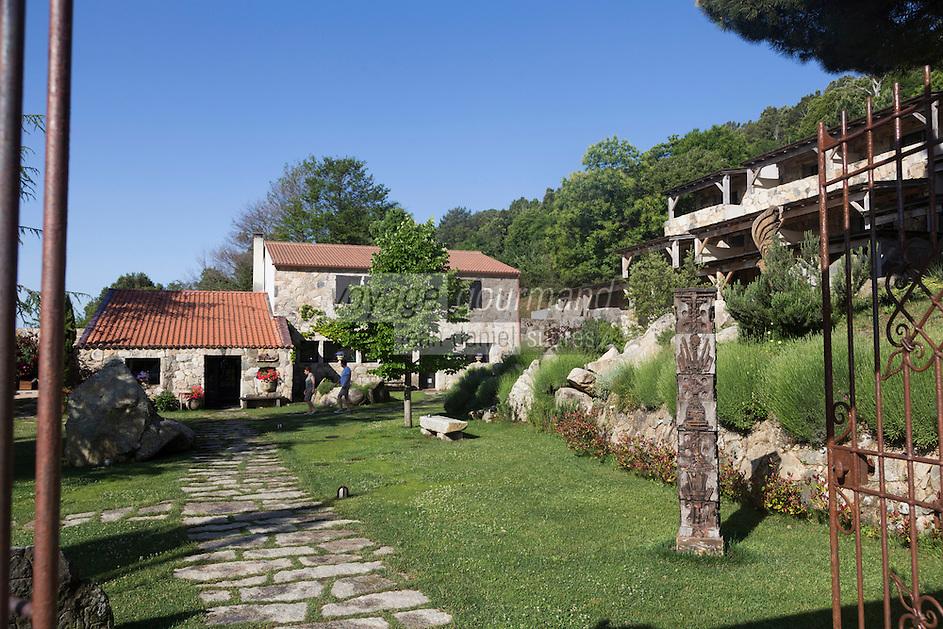 Europe/France/2A/Corse du Sud/Levie : Ferme-Auberge: A PIgnata