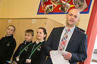 Head Teacher Tony Warsop
