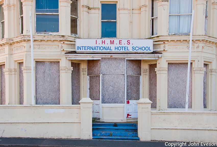 International Hotel School, closed,Port Erin, Isle of Man.