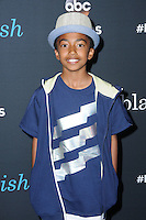 "10 June 2016 - Hollywood. Miles Brown. Arrivals forFYC Event For ABC's ""Black-ish"" held at Dave & Busters. Photo Credit: Birdie Thompson/AdMedia"