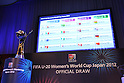 Official Draw for the FIFA U-20 Women's World Cup Japan 2012
