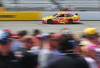 May 2, 2008; Richmond, VA, USA; NASCAR Sprint Cup Series driver Kevin Harvick during practice for the Dan Lowry 400 at the Richmond International Raceway. Mandatory Credit: Mark J. Rebilas-
