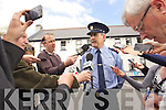 Supt Flor Murphy at a Press Briefing on the double murder in Killorglin at Killarney Garda Station on Tuesday.