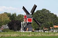 Nederland Oud-Zuilen - Augustus 2018.  Wipmolen de Buitenwegse Molen.  Foto Berlinda van Dam / Hollandse Hoogte