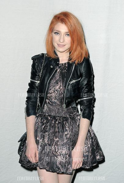 Nicola Roberts at the Henry Holland Show, London Fashion Week. 18/09/2010  Picture by: Simon Burchell / Featureflash