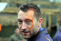 Pictured: Stephen Dobbie after one of the fights. Tuesday 25 January 2011<br />