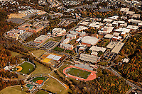 University of North Carolina Charlotte aerial photography - October 2010