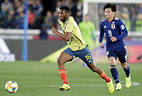 YOKOHAMA - JAPON, 22-03-2019: Jorge Lerma de Colombia en acción durante partido amistoso de la fecha FIFA marzo 2019 entre las selecciones de Japón y Colombia jugado en el estadio Nissan de la ciudad de Yokohama. / Jorge Lerma of Colombia in action during friendly match for the FIFA date March 2019 between national teams of Japan and Colombia played at Nissan stadium in Yokohama city. Photo: VizzorImage / VizzorImage / Julian Medina / Cont