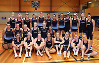 13.12.2017 Squad members during traning at the Silver Ferns trails in Auckland. Mandatory Photo Credit ©Michael Bradley.