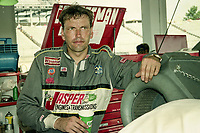 Ted Musgrave, Winston 500, Talladega Superspeedway, Talladega, Alabama, May 1992.(Photo by Brian Cleary/bcpix.com)