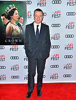 """LOS ANGELES, USA. November 17, 2019: Peter Morgan at the gala screening for """"The Crown"""" as part of the AFI Fest 2019 at the TCL Chinese Theatre.<br /> Picture: Paul Smith/Featureflash"""