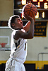 Christian Daley #11 of St. Anthony's drains a jumper during a non-league boys basketball game against St. Joseph (Metuchen, NJ) iat St. Anthony's High School in South Huntington on Saturday, Dec. 29, 2018. St. Joseph won by a score of 58-55.