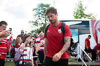 Danny Cipriani of Gloucester Rugby arrives at Allianz Park. Gallagher Premiership Semi Final, between Saracens and Gloucester Rugby on May 25, 2019 at Allianz Park in London, England. Photo by: Patrick Khachfe / JMP