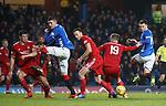 05.12.2018 Rangers v Aberdeen: Scott McKenna and Kyle Lafferty