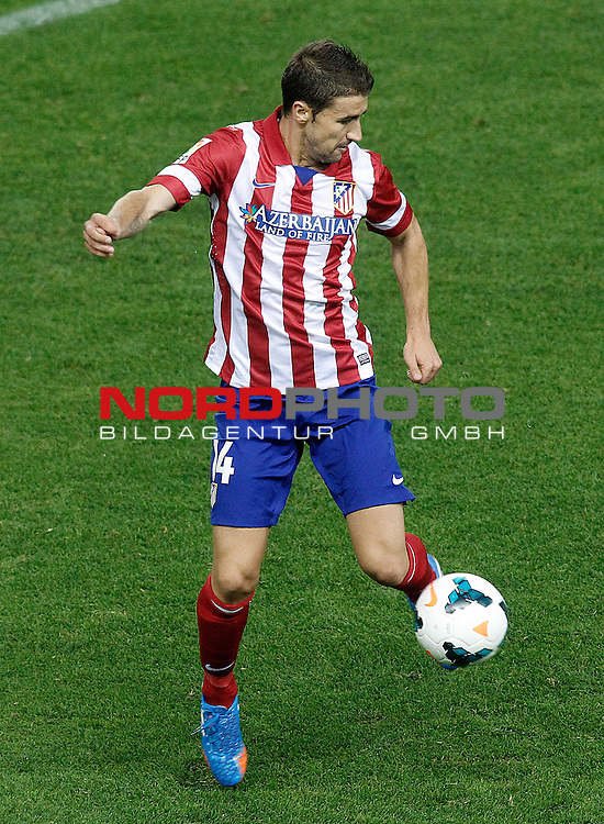 Atletico de Madrid's Gabi Fernandez during La Liga match.September 24,2013. Foto © nph / Acero)